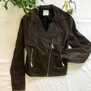 Old Navy Faux Leather Jacket - NWOT